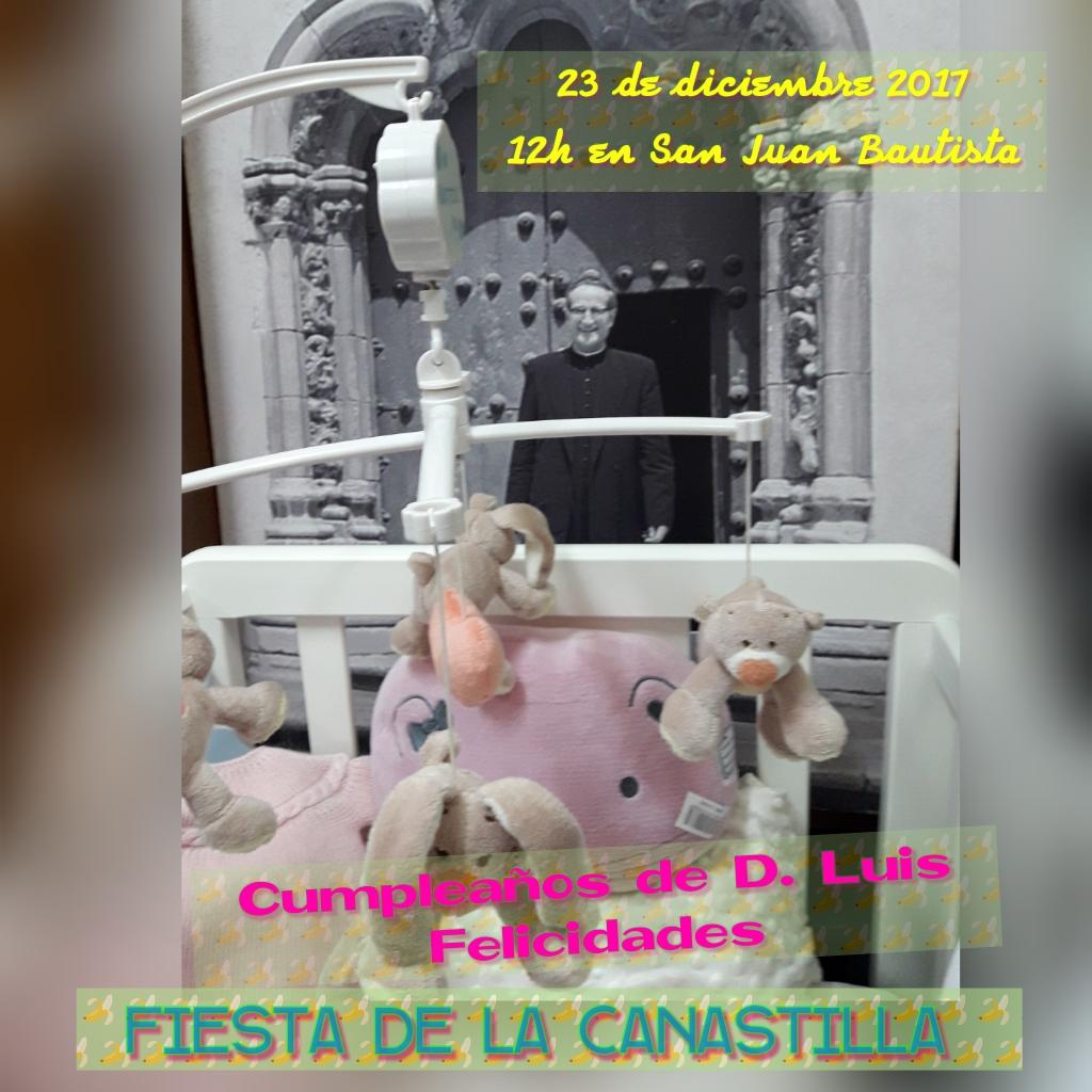 Celebración de la Canastilla @ Parroquia San Juan Bautista