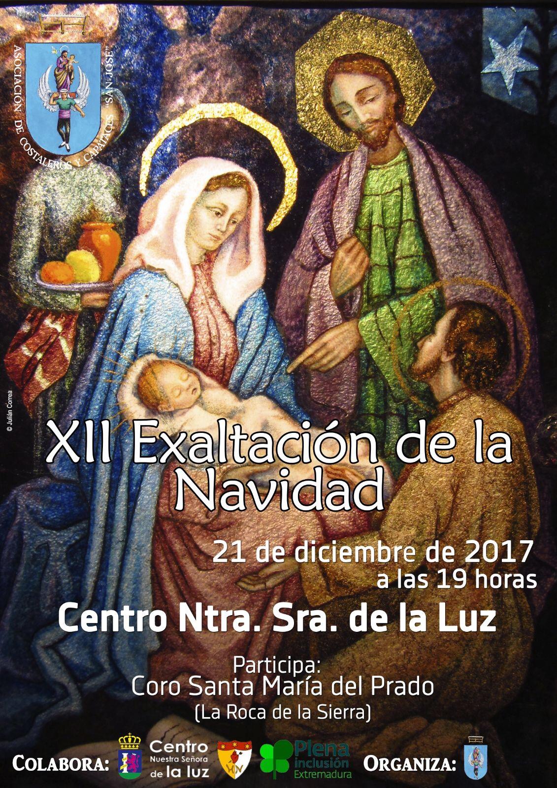XII Exaltación de la Navidad